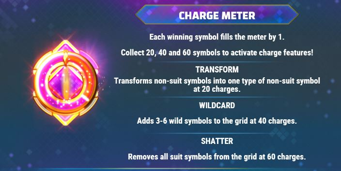 wild frames charge meter